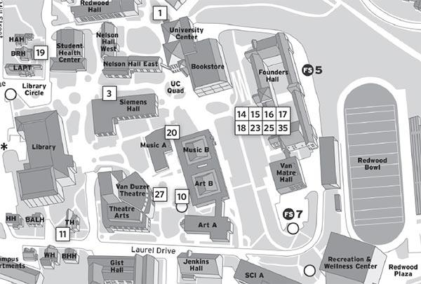 department receptions map image